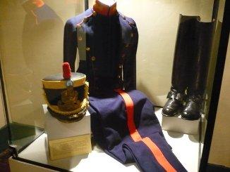 Réplica de uniforme de Granadero de los Andes - Museo Bolivariano, Lima.